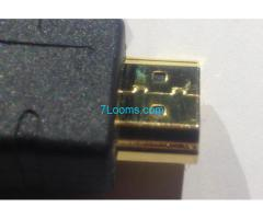 HDMI High Speed Kabel mit Ethernet vergoldete Stecker  10 Meter;