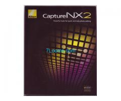 Capture NX2 Photo Editier Software von NIKON; original