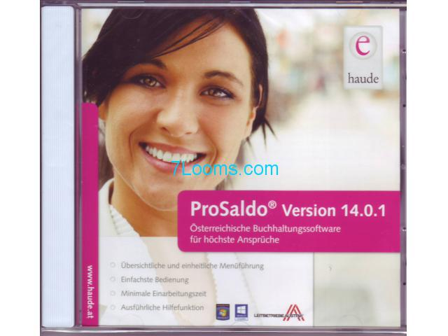 ProSaldo Version 14.01.1 CD Original Haude Buchhaltungssoftware