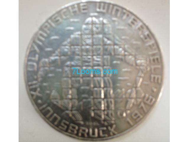 Biete 100 Schilling Xii Olympische Winterspiele Silber Münze