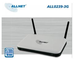 ALLNET ALL0239-3G / 300Mbit Wireless LAN Router mit USB-Port für 3G-UMTS-Sticks