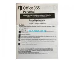 Biete Office 365 Personal Produkt Key für 1 Jahr 1PC/Mac + 1 Tablet + 1 Smartphone;