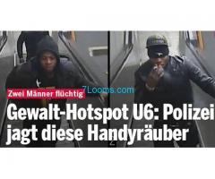 31.12.16 04:10 Wir suchen die brutalen Handy Räuber von der U6 Station Josefstädter Strasse;