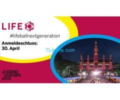 #lifeballnextgeneration; Anmeldeschluss: 30.04.2017; Jugend gegen Aids