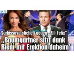 Die Menschen verachtende Sarkisova pinkelt Live einen österreichischen Helden im ORF an!
