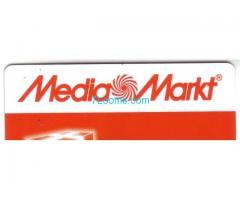 Media Markt Geschenkkarte; 2017;