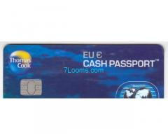 Thomas Cook Eu € Cash Passport von Mastercard Prepaid