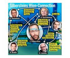 Silbersteins Wien Connections; Gusenbauer; Kern; Steinmetz, Lansky,.....