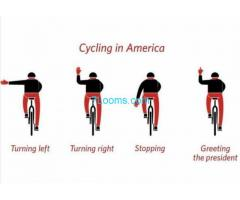 Cycling in America, Greeting the President;
