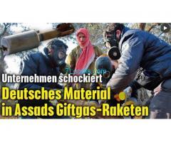 Deutsches Material in Raketen von Assad! ? Ist das Bild echt?