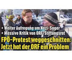 ORF Redaktion stellt FPÖ wieder ins rechte Eck, in dem sie Aufzeichnungen manipulieren!
