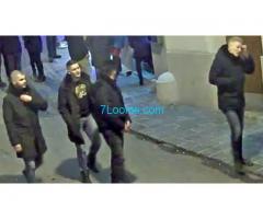 Wir suchen die 4 brutalen Räuber vom 3. Dezember 2017 gegen 4 Uhr früh am Ragensteig in Wien;