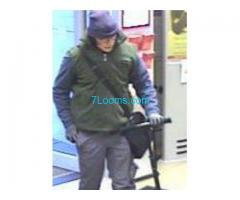Wir suchen den Räuber vom 08.02.18 08:20 welcher am Wiedner Gürtel eine Bank überfallen hat!