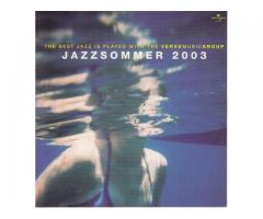 CD Jazzsommer 2003; The Best Jazz is played with the Vervemusicgroup