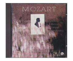 CD Wolfgang Amadeus Mozart;  Concerto in C major for Flute, Harp and Orchestra