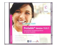 ProSaldo Version 13.01.1 CD Original Haude Buchhaltungssoftware