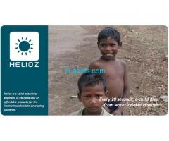 HELIOZ WADI - SOLAR WATER DISIFECTION